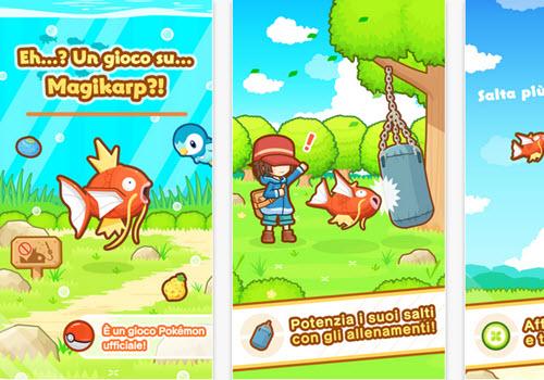 Capture d'écran Pokemon : Magikarp Jump iOS