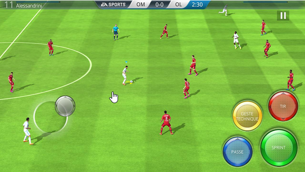 Capture d'écran FIFA 16 Ultimate Team iOS