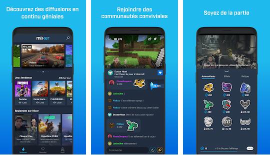 Capture d'écran Mixer iOS