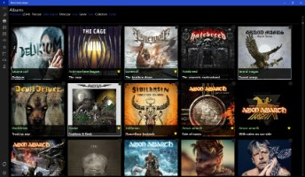 Capture d'écran Nova Music Player