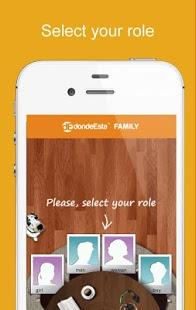 Capture d'écran DondeEsta Family Locator