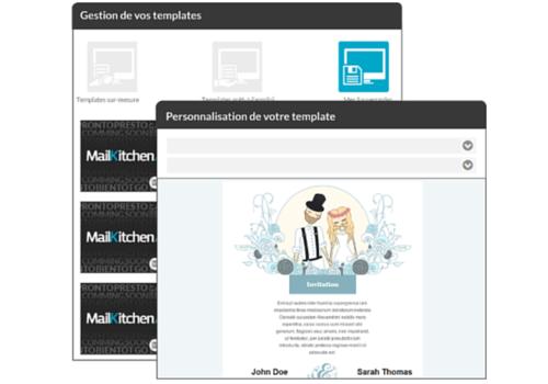 Capture d'écran MailKitchen