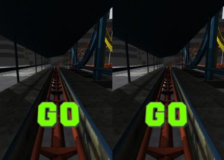 Capture d'écran Roller Coaster Virtual Reality