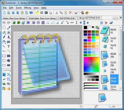 Capture d'écran IconLover