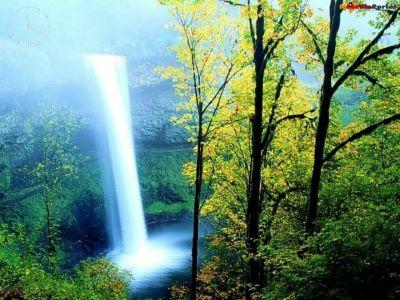 Capture d'écran Colourful Waterfall Screensaver