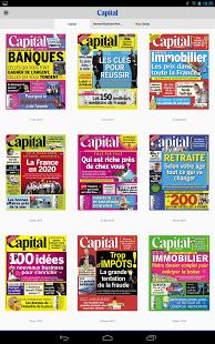Capture d'écran Capital le magazine