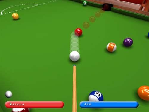 Capture d'écran Kick Shot Pool