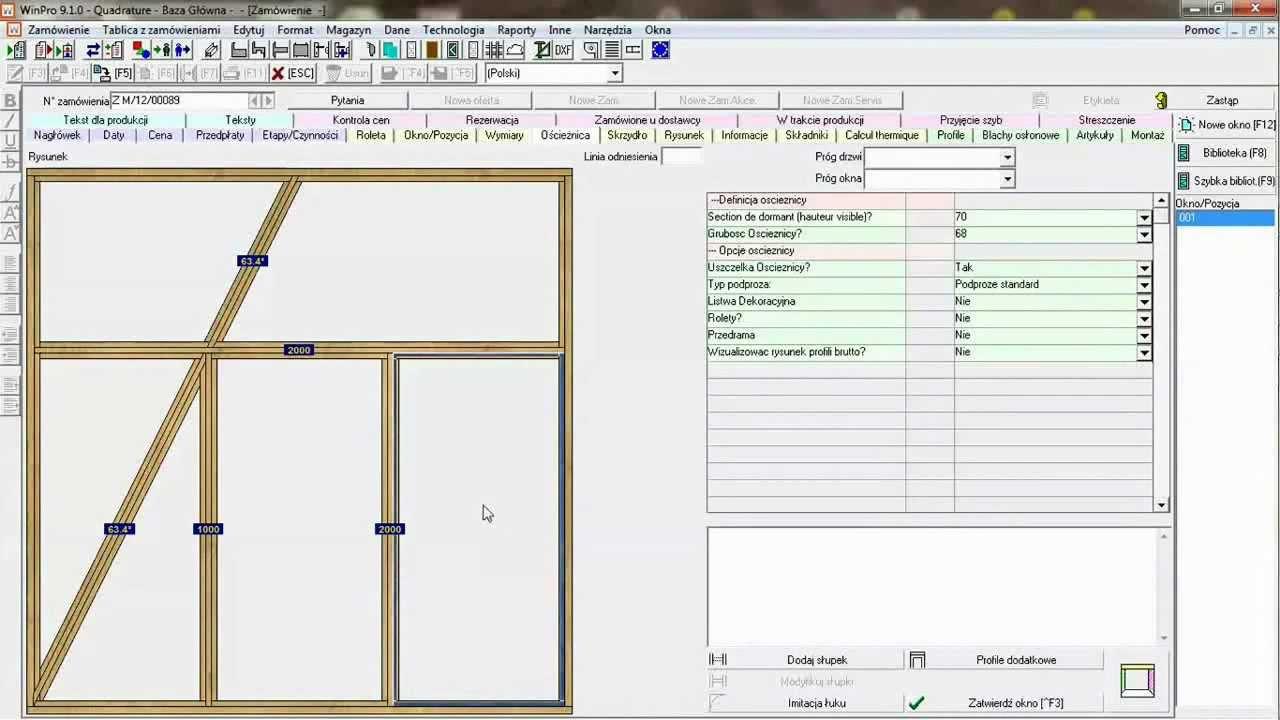 Capture d'écran WinPro 9