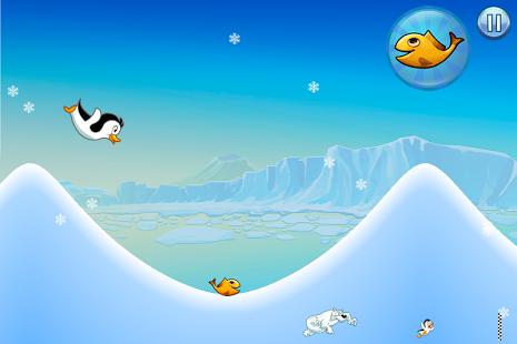Capture d'écran Racing Penguin – Flying Free