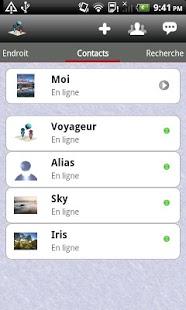 Capture d'écran Phone Tracker-IM Map Navigator