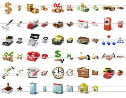 Capture d'écran Desktop Business Icons