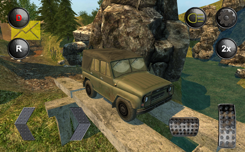 Capture d'écran VUS russes 4×4 hors route