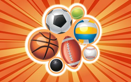 Capture d'écran Jeux de sports