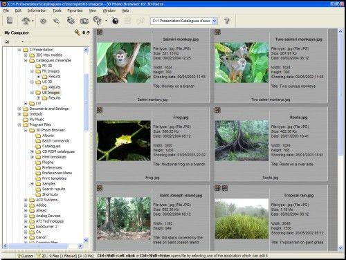 Capture d'écran 3D Photo Browser for 3D Users