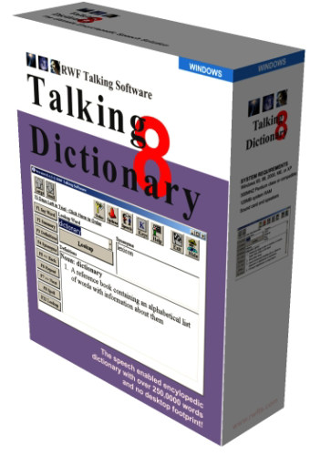 Capture d'écran Talking Dictionary