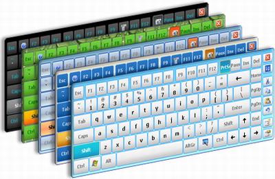 Capture d'écran Hot Virtual Keyboard