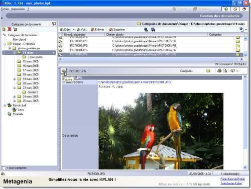 Capture d'écran Kdoc