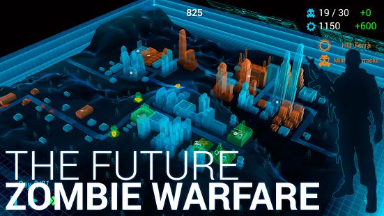 Capture d'écran Zombie City Defense