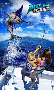 Capture d'écran Ace Fishing – Peche en HD