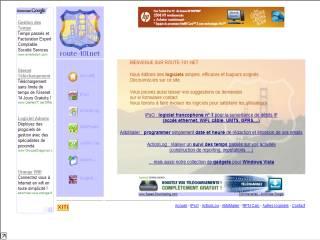 Capture d'écran AlibiMailer