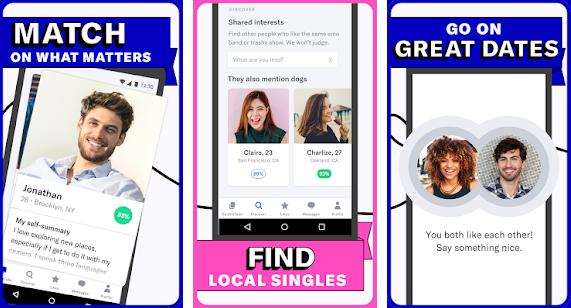 Capture d'écran OkCupid iOS
