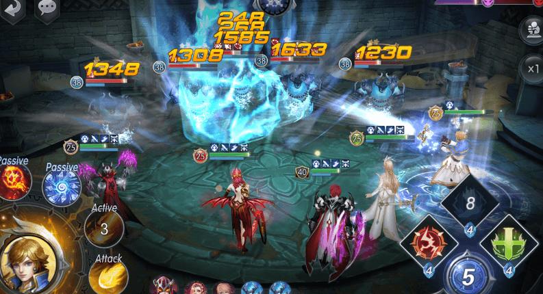 Capture d'écran Fire Heroes iOS