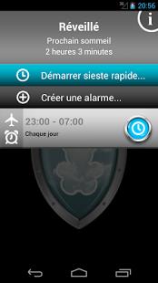 Capture d'écran Safe Sleep – Réveil