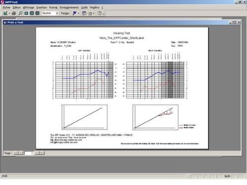Capture d'écran Hearing Test Base