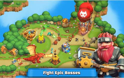 Capture d'écran Wild Sky TD – Epic Hero Tower Android