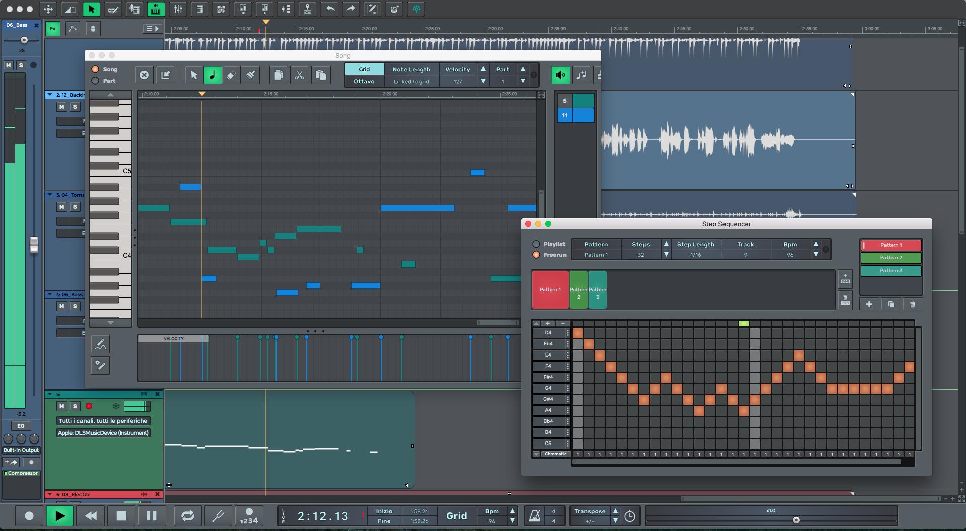 Capture d'écran n-Track for Mac