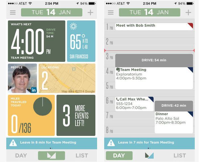 Capture d'écran Mynd iOS