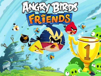 Capture d'écran Angry Birds Friends