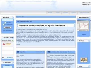 Capture d'écran GraphPoids