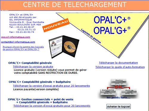 Capture d'écran OPAL'C+