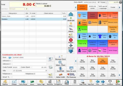 Capture d'écran EasyPressing