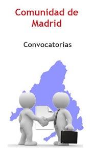 Capture d'écran Convoc. Comunidad Madrid Free