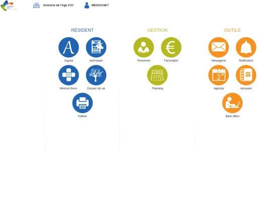Capture d'écran MedgicNet