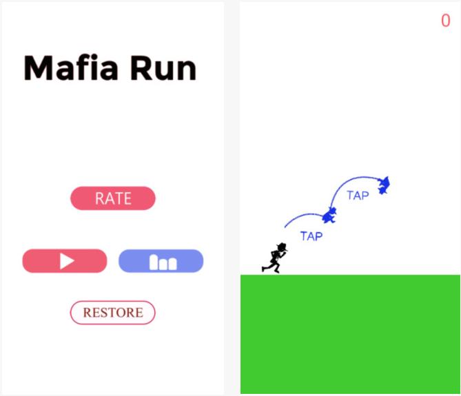 Capture d'écran Amazing Mafia – The Thief iOS