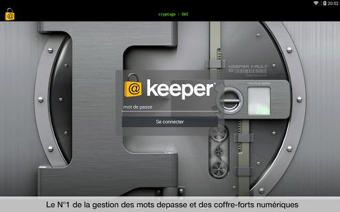 Capture d'écran Keeper® Password Manager