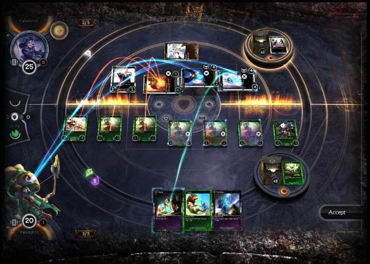 Capture d'écran Hex TCG