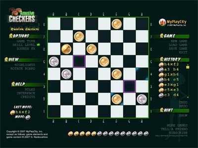 Capture d'écran Amusive Checkers
