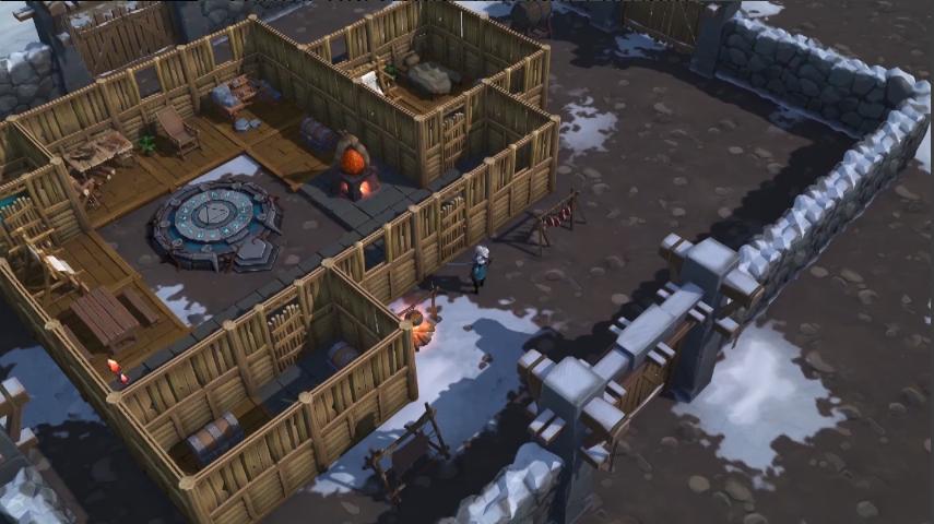 Capture d'écran Winter Survival:the last zombie shelter on earth