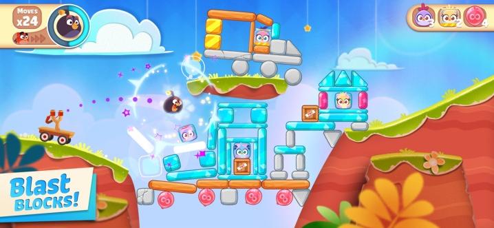Capture d'écran Angry Birds Casual iOS