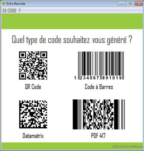 Capture d'écran eacode