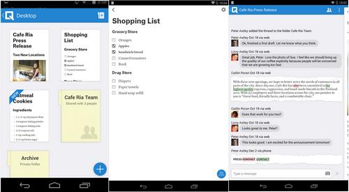 Capture d'écran Quip Android