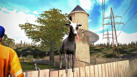 Capture d'écran Goat Simulator