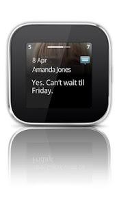 Capture d'écran Messaging smart extension