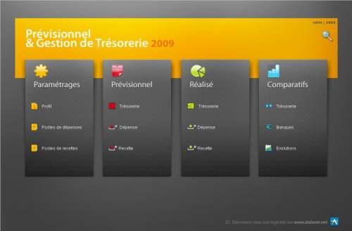 Capture d'écran Tréso'Asso v.PC