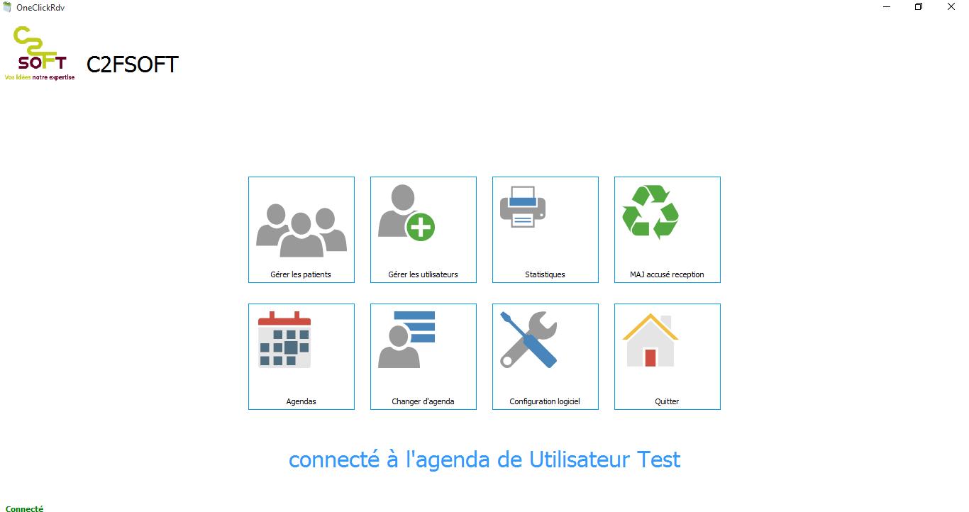 Capture d'écran OneClickSms 3.5.3.0