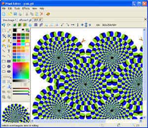 Capture d'écran Pixel Editor